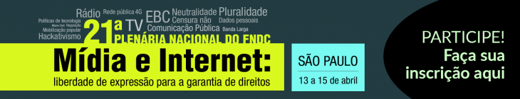 21ª Plenária do FNDC